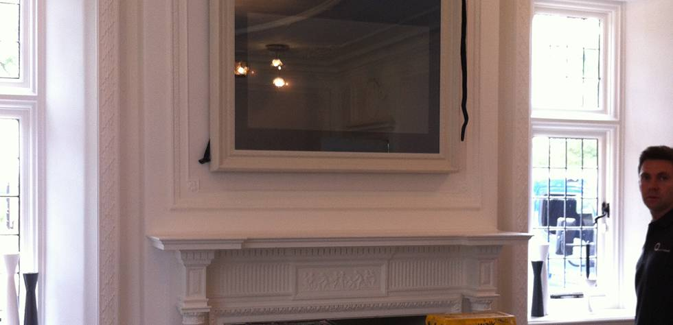 Mirror TV Installation
